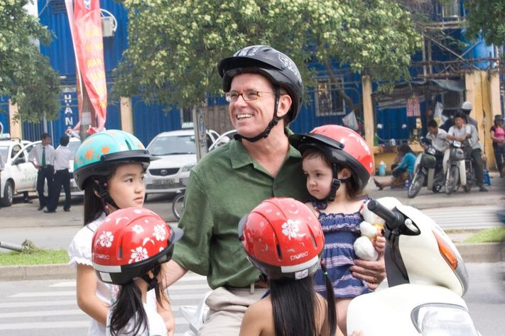 Greig Craft plans to turn part of his helmet factory in Hanoi into an assembly line to make face masks and possibly other needed medical supplies